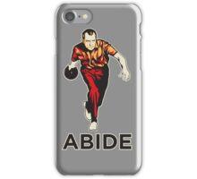 Bowling Nixon Abide  iPhone Case/Skin