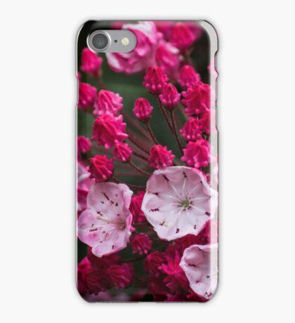 Pink Flower Macro iPhone Case/Skin