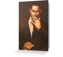 One Last Smoke Greeting Card