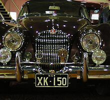 Jaguar XK150 by boydcarmody