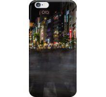 Tokyo Ghosts - Shibuya Crossing Long Exposure iPhone Case/Skin