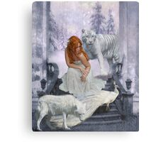 Those from White Wood Canvas Print
