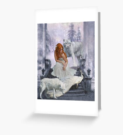 Those from White Wood Greeting Card