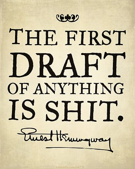 First Drafts by LibertyManiacs