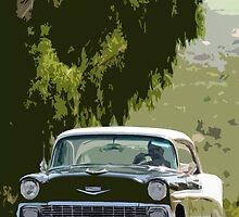 1956 chevy by MidnightRocker