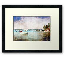 Belmont Bay Framed Print