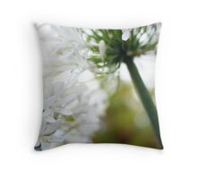 an agapanthus afternoon Throw Pillow