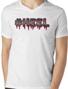 #HEEL - Metal Mens V-Neck T-Shirt