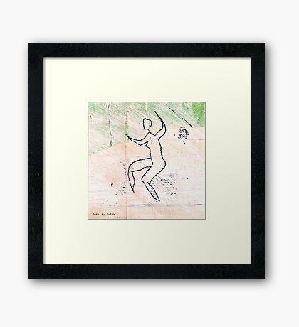 dancer 3 Framed Print