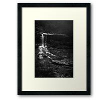 Weeping Rock, Wentworth Falls Framed Print