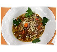 Noodle Soup Poster