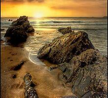 Cornish Sunrise by Mike  Sherman