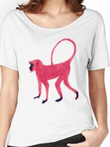 Red Monkey Women's Relaxed Fit T-Shirt