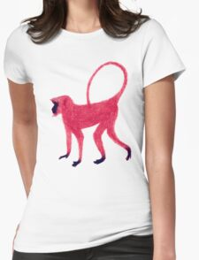 Red Monkey Womens Fitted T-Shirt