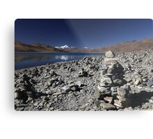 Highest lake in Tibet Metal Print
