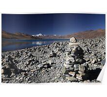 Highest lake in Tibet Poster