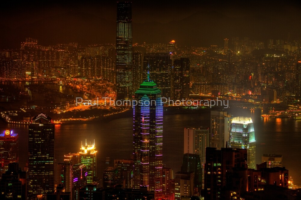 Victoria Peak  by Paul Thompson Photography