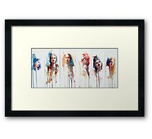 The Changing Face of Now No.2 Framed Print
