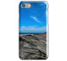 Beach with Rocks iPhone Case/Skin