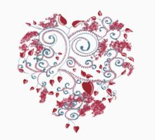 Heart and Flowers by Shelagh Linton