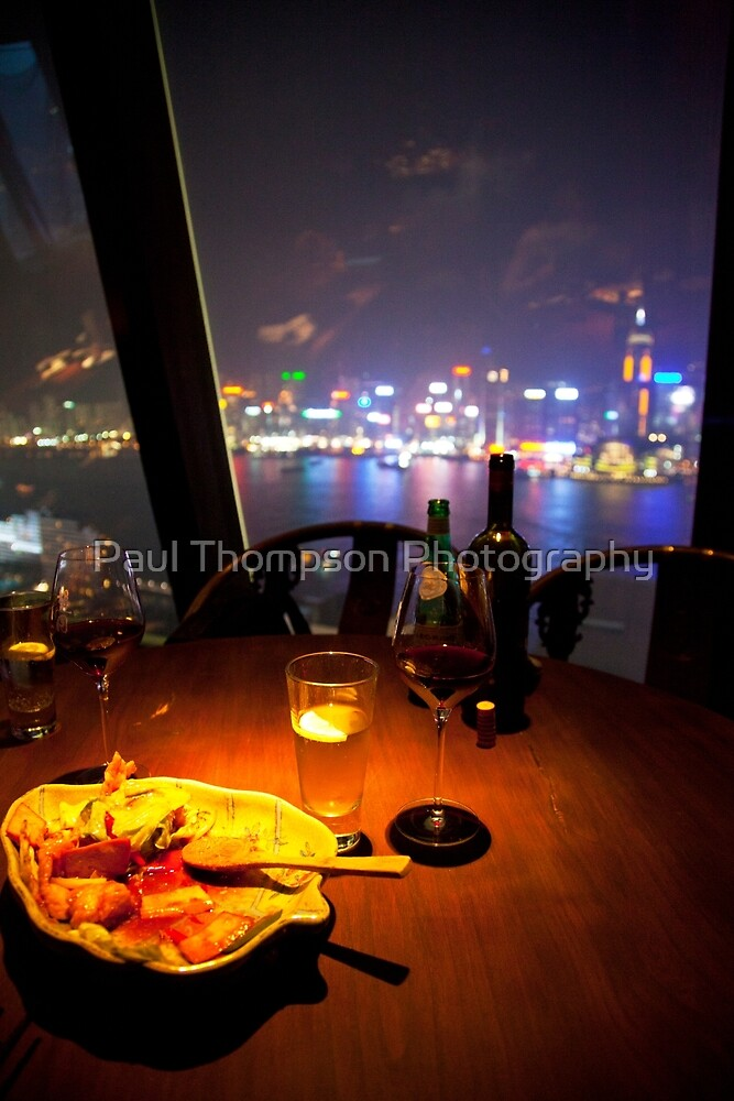Dinner With A View by Paul Thompson Photography