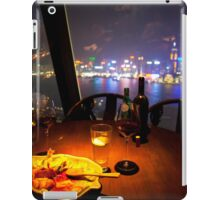 Dinner With A View iPad Case/Skin