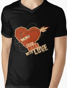 From Mars with love Mens V-Neck T-Shirt