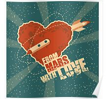 From Mars with love Poster