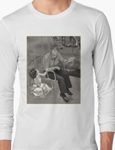 Grandad at work Long Sleeve T-Shirt