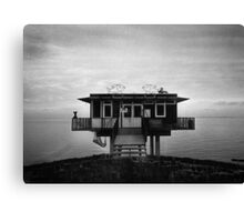 Fish restaurant  Canvas Print