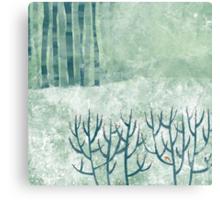 Cold Hedgerow Metal Print