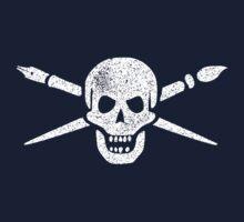Brush and Bones One Piece - Short Sleeve