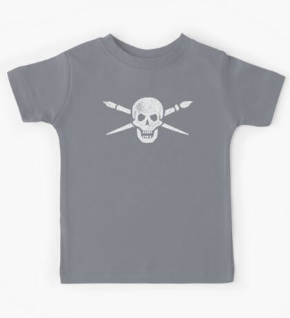 Brush and Bones Kids Tee