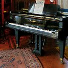 Piano with Sheet Music by Susan Savad