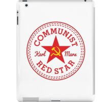 Commie Shoe Logo iPad Case/Skin