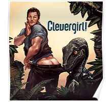 Clever Girl! Poster