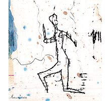 dancer - the run Photographic Print