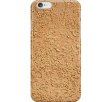 Fragment of the wall surface of the cement  iPhone Case/Skin