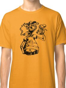 Drunk Man With Beer Classic T-Shirt