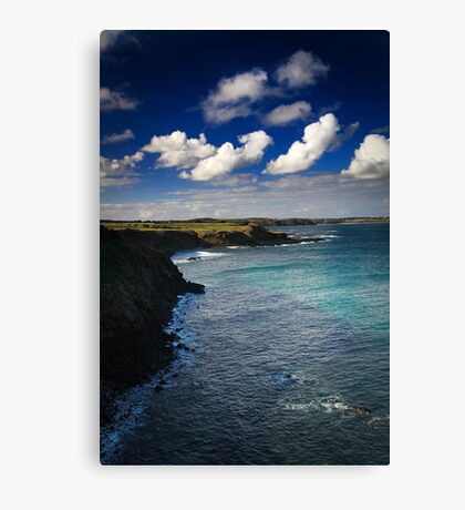 Windswept Coast - Phillip Island, Australia Canvas Print