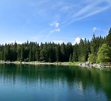 Lago di Predil / Julian Alps / Italy by smrcek