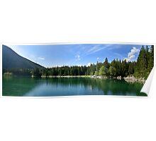 Lago di Predil / Julian Alps / Italy Poster