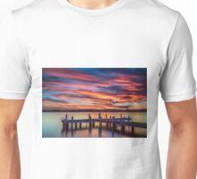 Squid's Ink Jetty Belmont NSW Australia Unisex T-Shirt