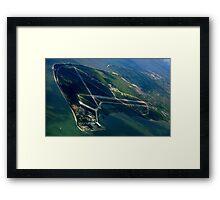 Montijo Air base Framed Print