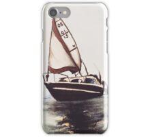 Sailing away iPhone Case/Skin