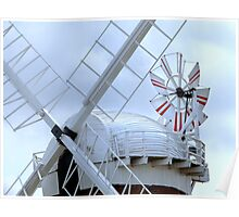 On top of A Windmill in Norfolk Poster