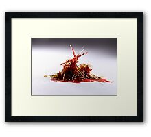 Pulled Plastic Series: 2 of 3 Framed Print