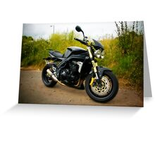 Triumph Speed Triple Greeting Card
