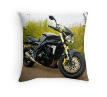 Triumph Speed Triple Throw Pillow