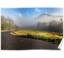 The Road less Travelled -  near Gloucester NSW Australia Poster